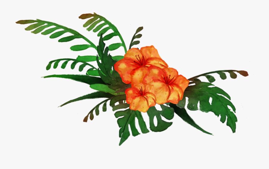 Transparent Tropical Plant Clipart - Transparent Background Tropical Clipart, Transparent Clipart