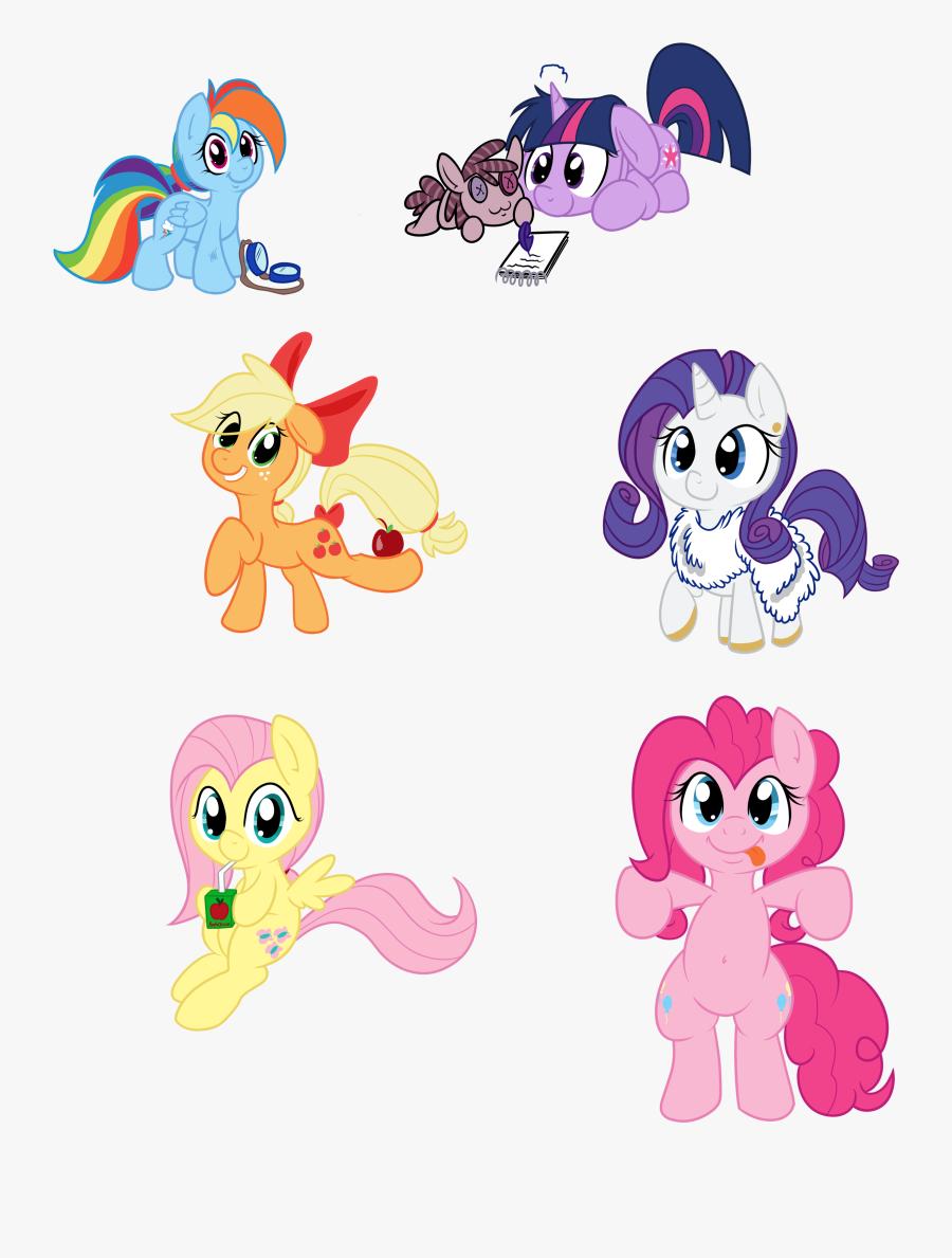 Pinkie Pie Rainbow Dash Rarity Twilight Sparkle Princess - Cartoon, Transparent Clipart