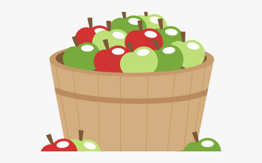 Animated Barrel Of Apples, Transparent Clipart