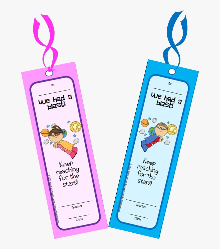 "A Teacher""s Idea - End Of Year Class Bookmarks, Transparent Clipart"