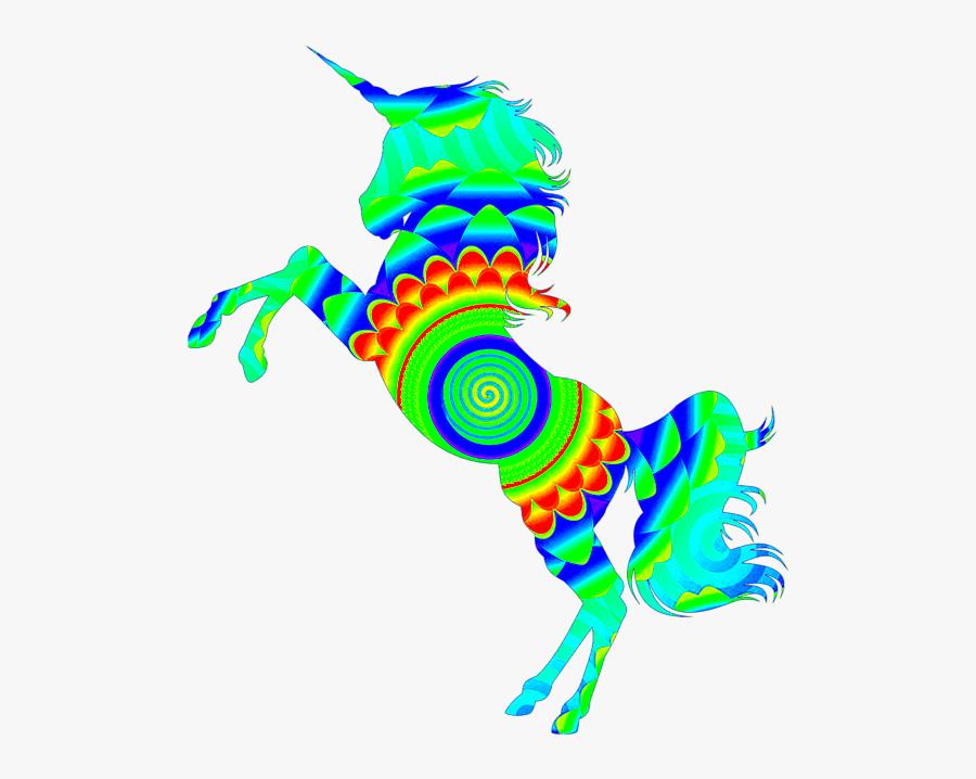 Unicorns Girls, Transparent Clipart