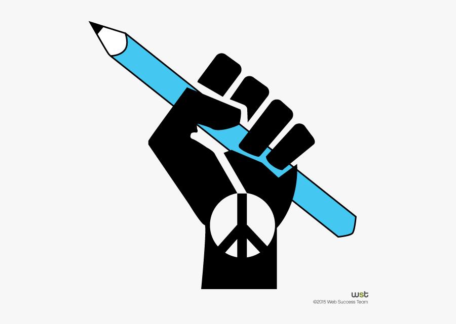 Transparent Nationalism Clipart - Freedom Of Expression Symbol, Transparent Clipart