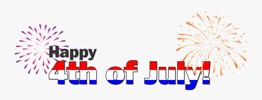 Independence Day United States Declaration Of Independence - Happy 4th Of July Words, Transparent Clipart