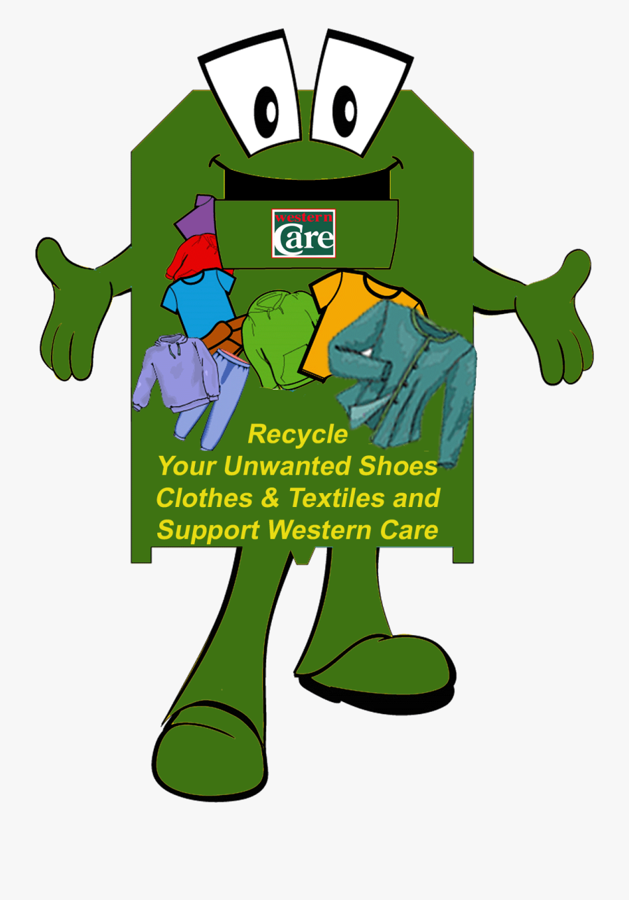 Recycle Cartoon Download - Clothing Recycling, Transparent Clipart
