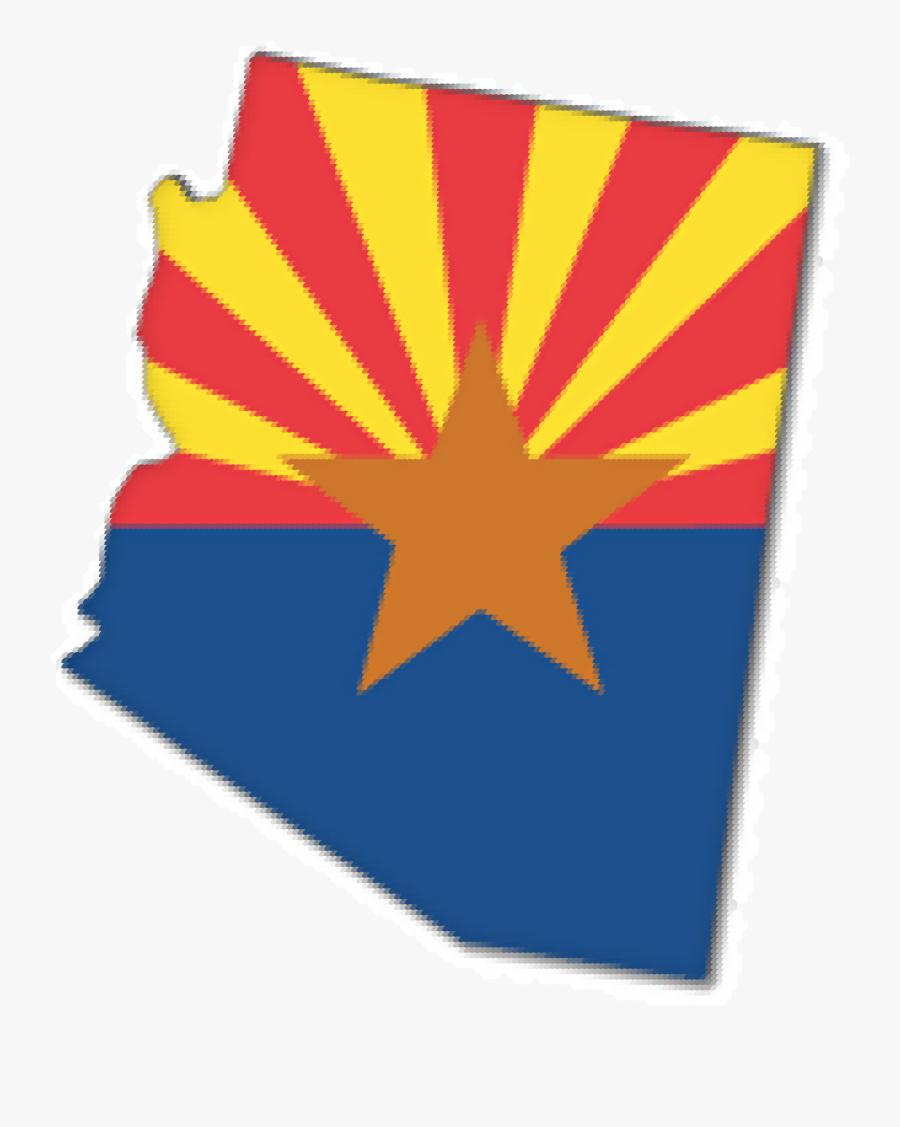Arizona Clipart - State Of Arizona Transparent, Transparent Clipart