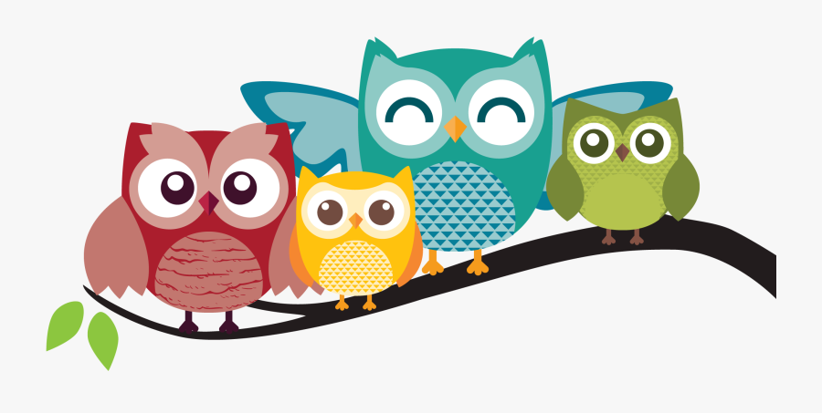 Family Clipart Owl - Owl Cartoon Png, Transparent Clipart