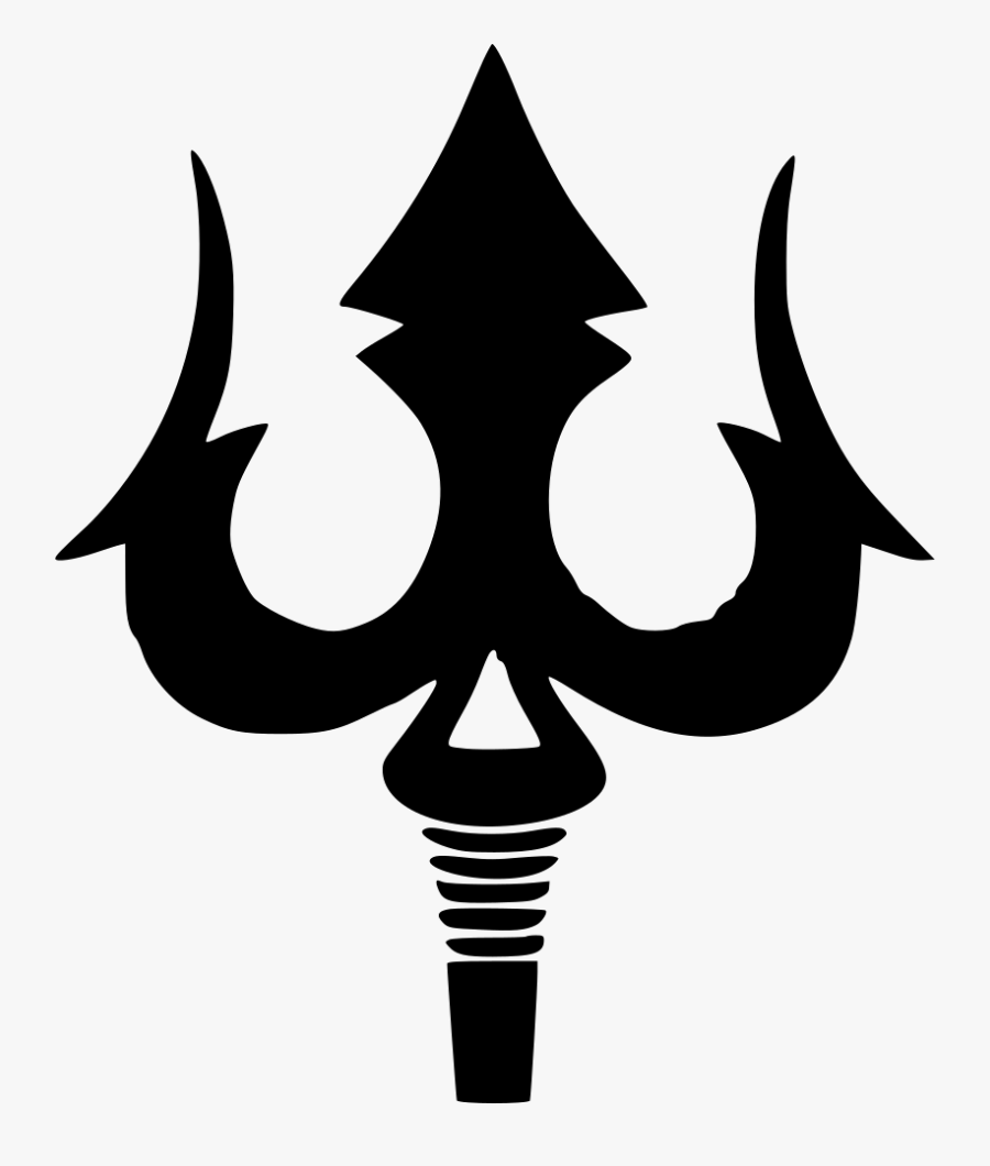 Shiva God Gun Worship - Lord Shiva Trishul Clipart Png, Transparent Clipart
