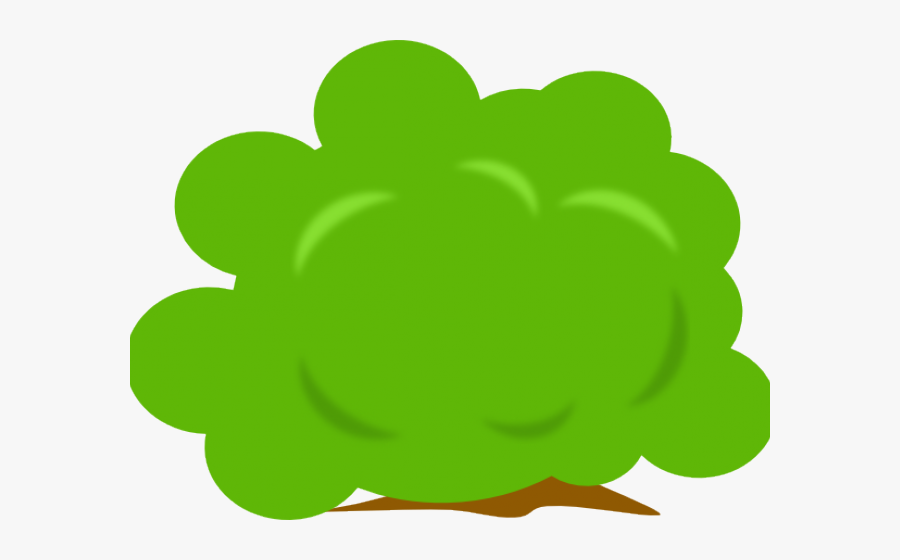 Green Bush Clipart, Transparent Clipart