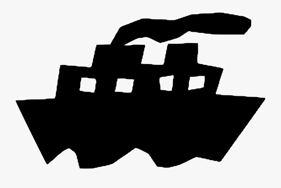 Transparent Cruise Ship Black And White Png - Ocean Liner, Transparent Clipart