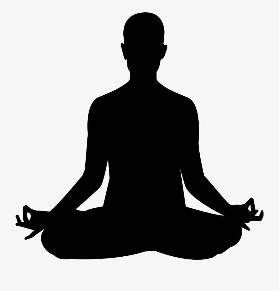 Relax Clipart Meditation Yoga Image Black And White Free Transparent Clipart Clipartkey