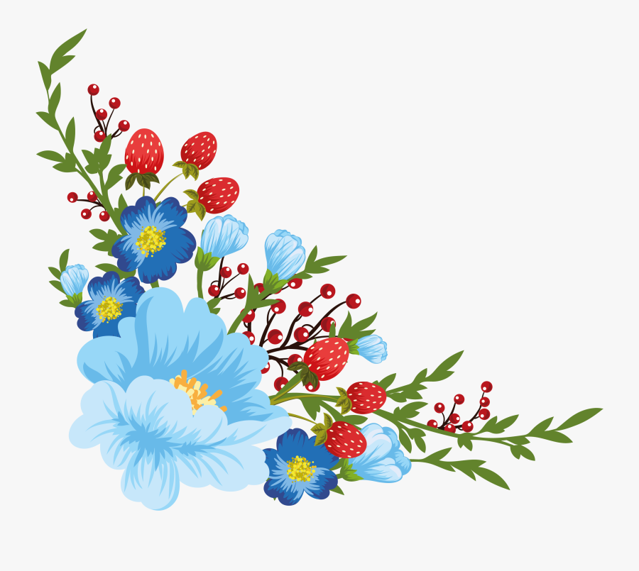 Beautiful Flowers My Decoupage - Beautiful Flowers Pics Png, Transparent Clipart