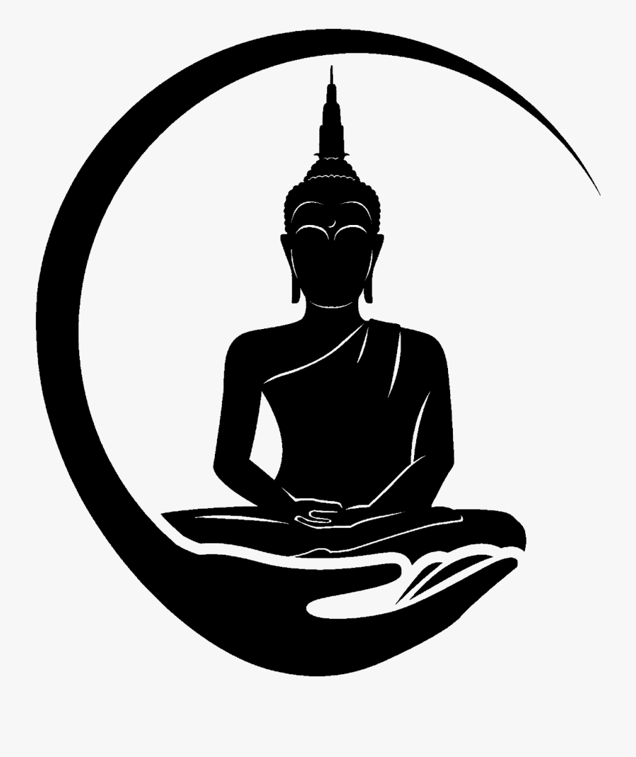 Meditation Clipart Relaxation - Buddha Tattoo Meditation, Transparent Clipart