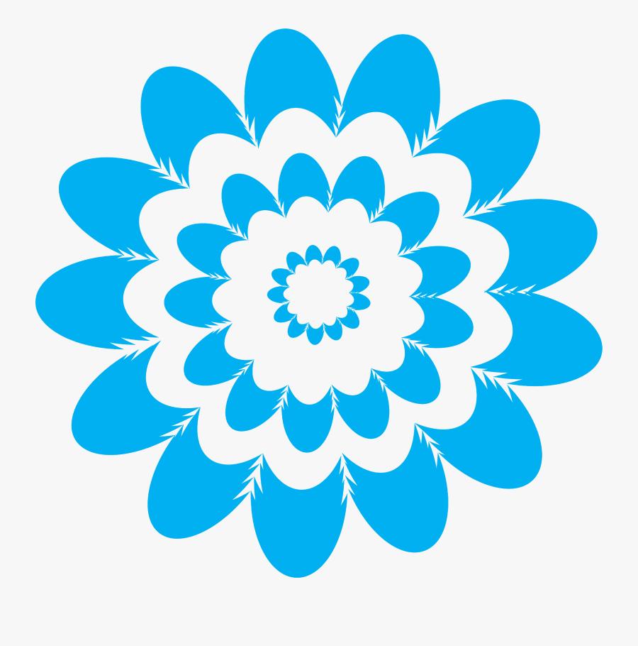 Mandalas, Flowers Clipart, Free Clipart - Colorful Optical Illusion Patterns, Transparent Clipart