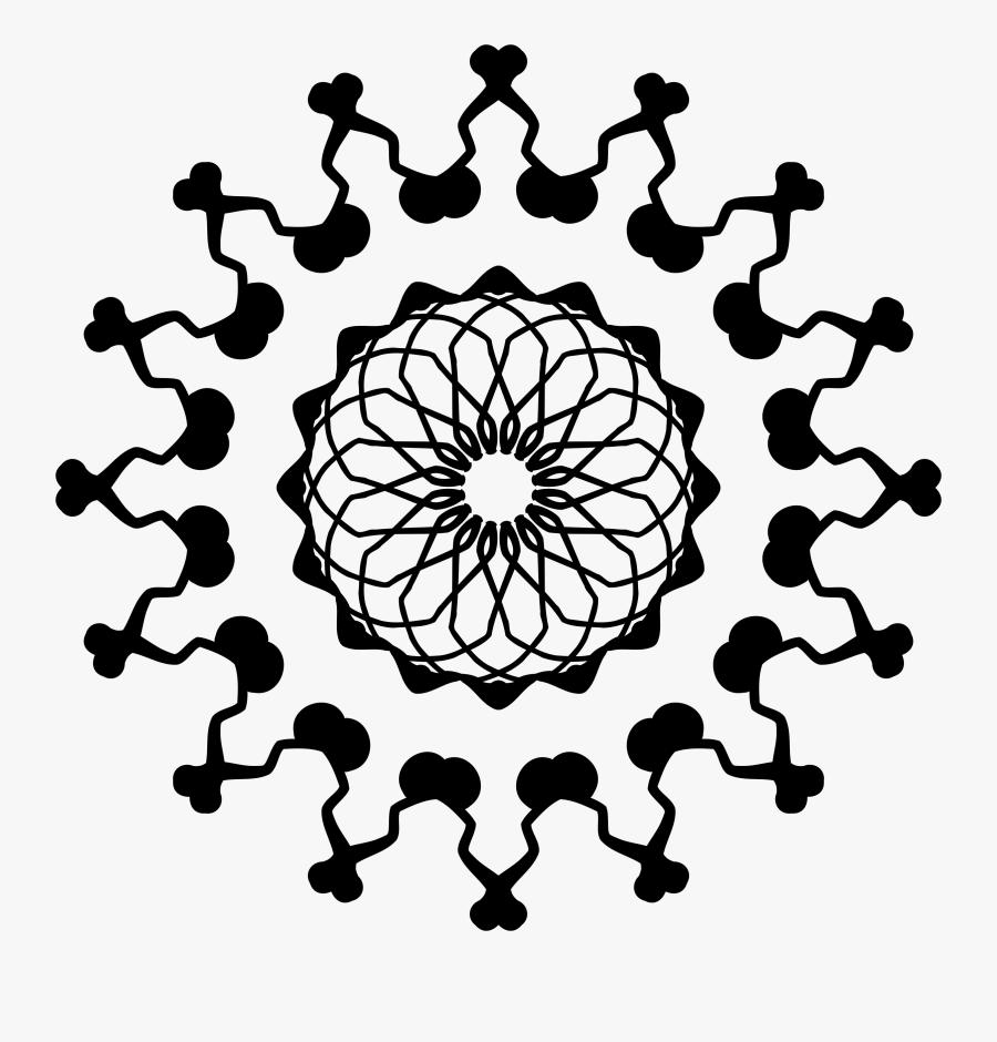 Mandala To Download In Pdf 6 Mandalas Print Coloring - Mandala Coloring Pages Printable, Transparent Clipart