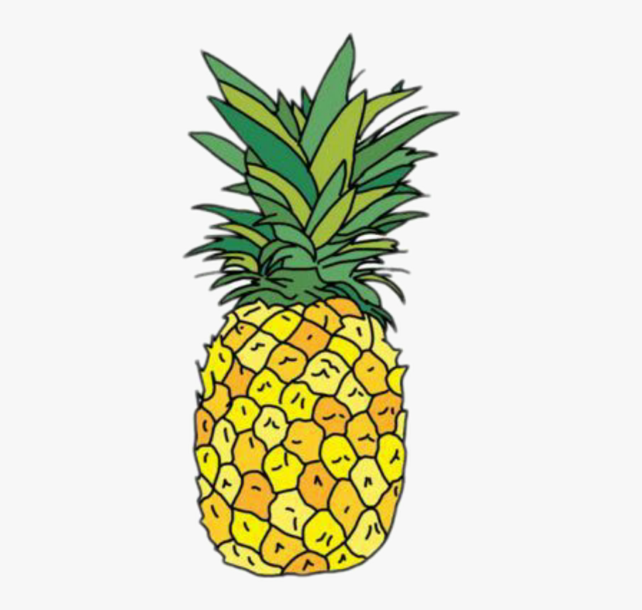 Pineapple Sticker Png Image With Transparent Background - Pineapple Stickers For Hydro Flask, Transparent Clipart