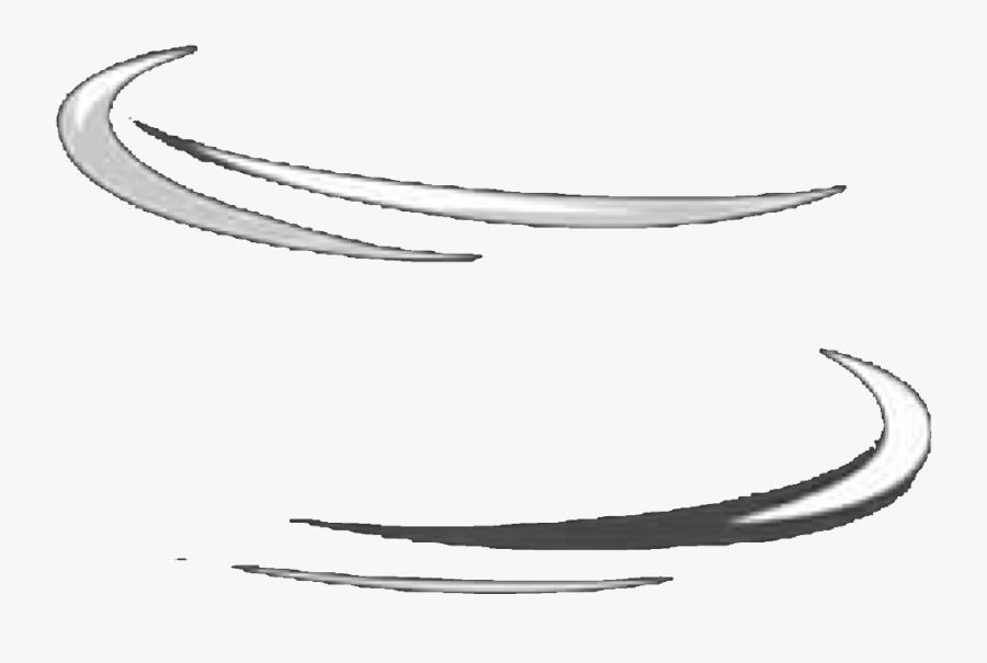 Circle White Stripe Frame Outline Aesthetic Tumblr - Transparent Aesthetic Outline Png, Transparent Clipart