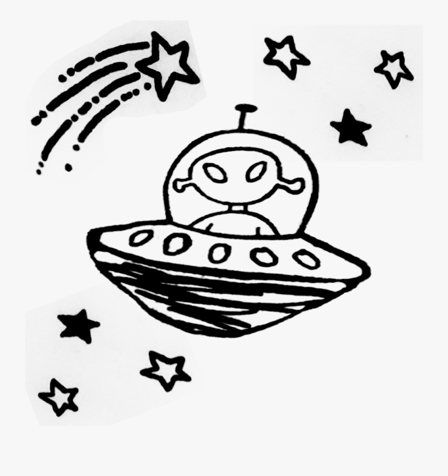 Alien Ufo Tumblr - Ufo Clipart, Transparent Clipart