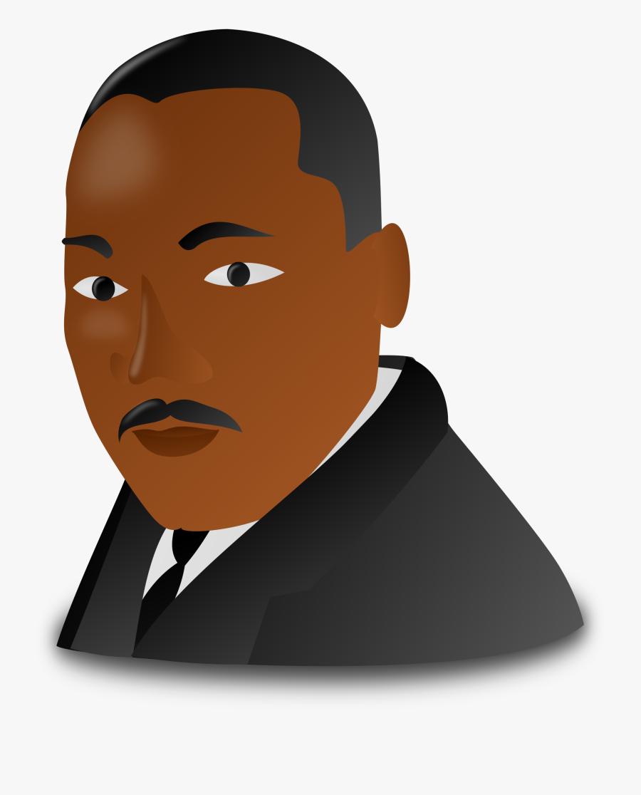 Martin Luther King Jr - Martin Luther King Jr Clipart, Transparent Clipart
