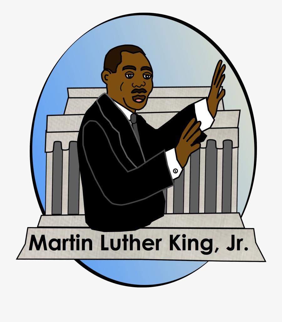 Martin Luther King Jr Clipart Jpg, Transparent Clipart
