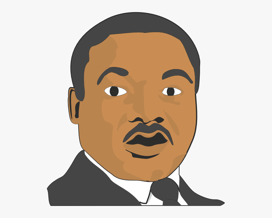 Nose Clipart King Jr - Martin Luther King Pictures Cartoon, Transparent Clipart