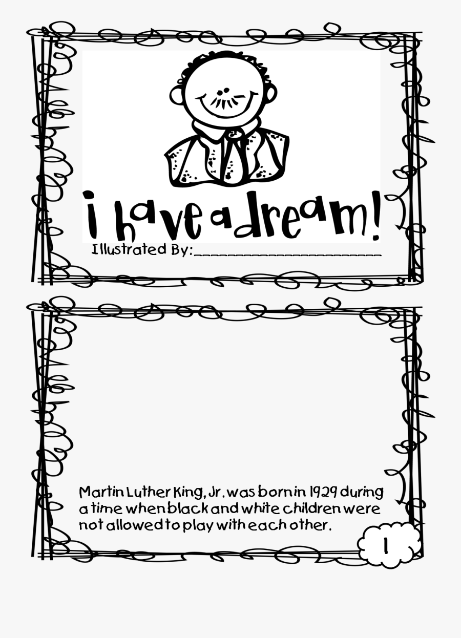 Martin Luther King I Have a Dream coloring page | Free Printable ... | 1246x900