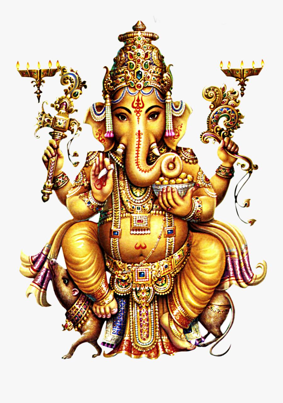 Lord Vinayaka Png - Lord Ganesha, Transparent Clipart