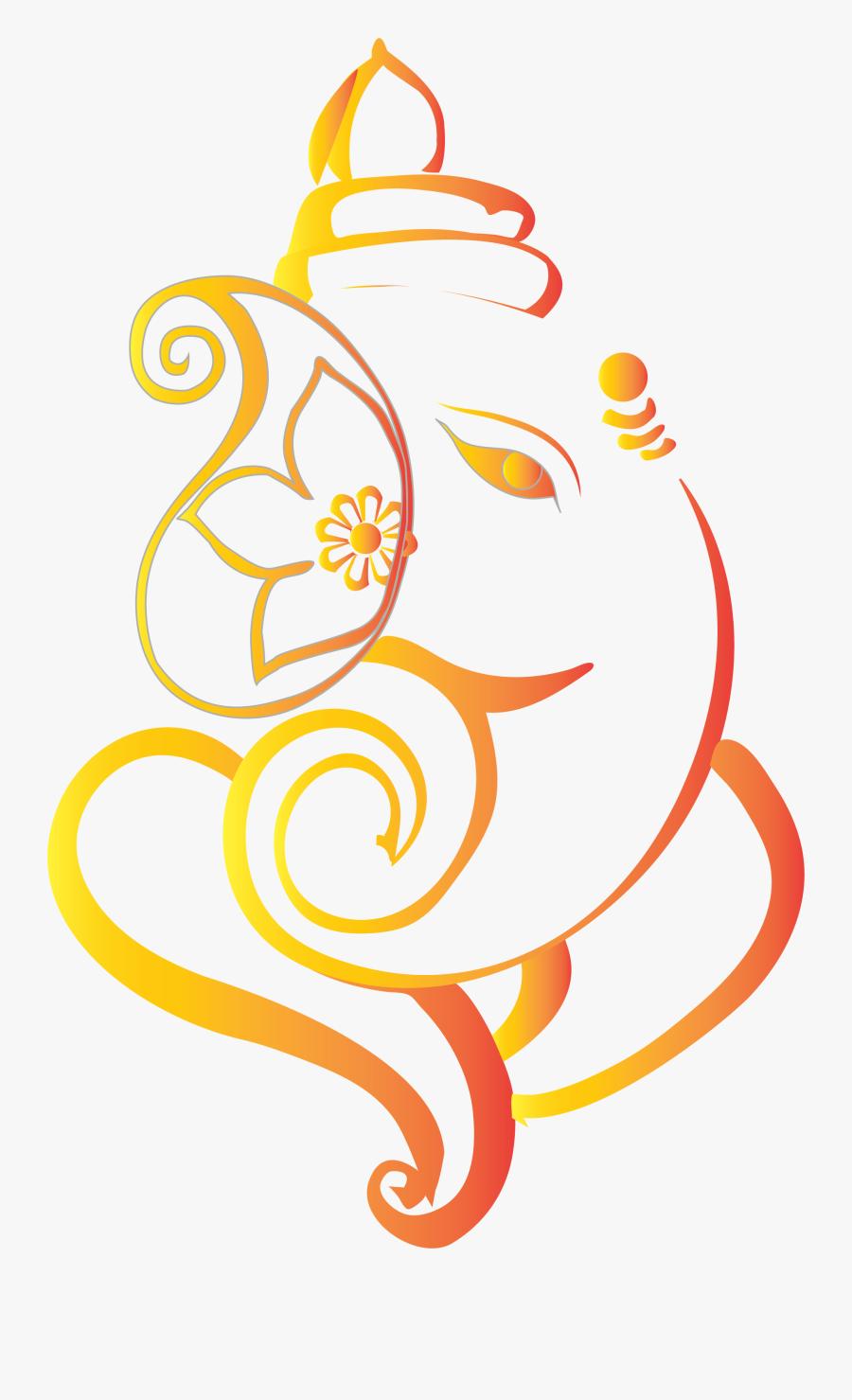 Transparent Ganesh Ji Clipart - Ganesh Vector, Transparent Clipart
