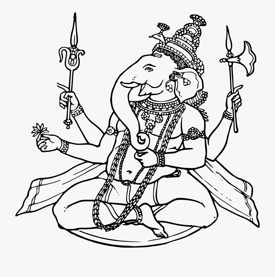 Ganesh Clip Arts - Page Maker Clip Art, Transparent Clipart