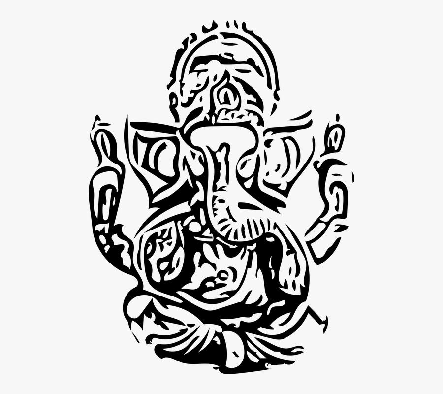 Ganesh, Ganesha, Ganesh Vector, Ganesha Vector, God - Happy Ganesh Chaturthi 2019, Transparent Clipart