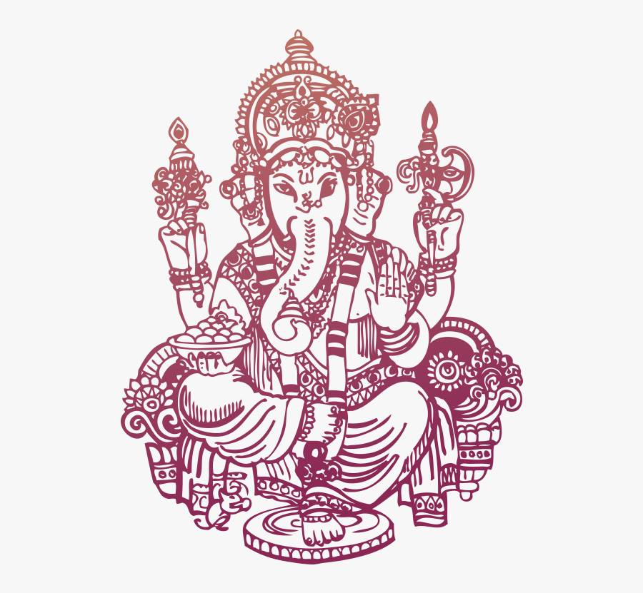 God Ganesh Hd Png Images - Eid Mubarak Wishes From Hindu, Transparent Clipart