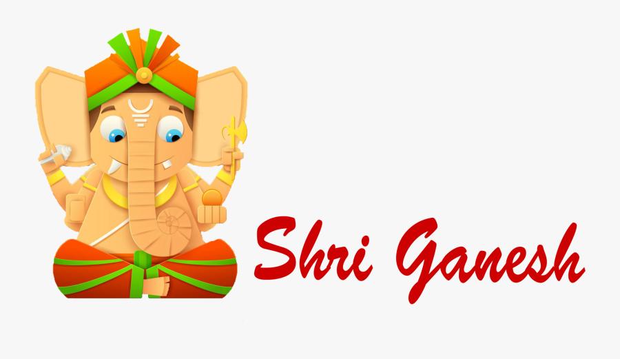 Cartoon,clip Character - Happy Ganesh Chaturthi 2018, Transparent Clipart