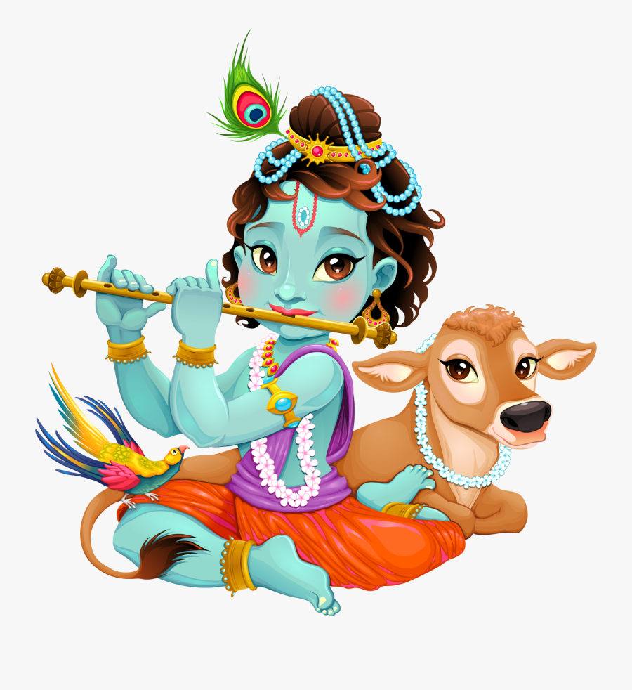 28 Collection Of Lord Krishna Clipart - Lord Krishna Clipart, Transparent Clipart