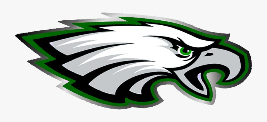 Eagle Head Clipart - Landmark Christian School War Eagles, Transparent Clipart