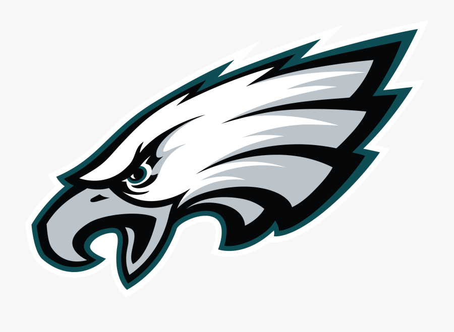 Clip Art Eagle Head Vector - Philadelphia Eagles Logo Transparent, Transparent Clipart