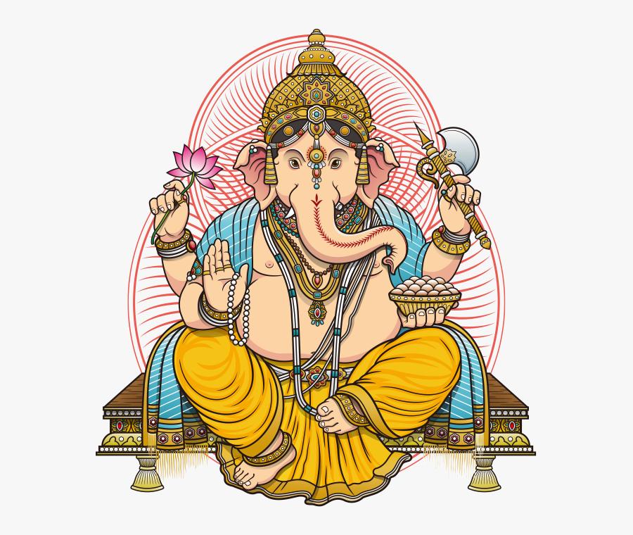 Ganesh Ji Image Png - Ganesha Vector Free Download, Transparent Clipart