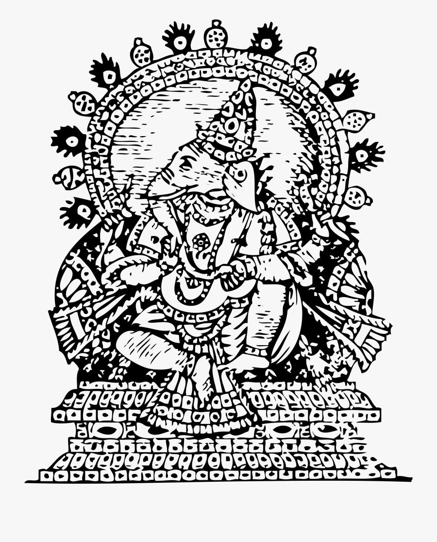 Ganesha, God Of Success - Ganesh Clip Art, Transparent Clipart