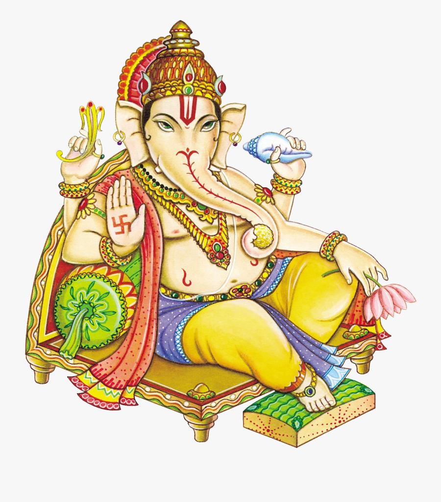 Ganesh Transparent Background - Ganesh Ji Images Without Background, Transparent Clipart