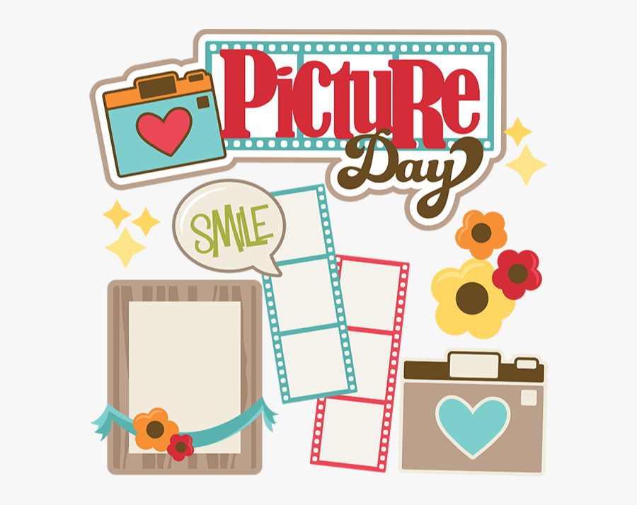 Fall School Picture Day, Transparent Clipart