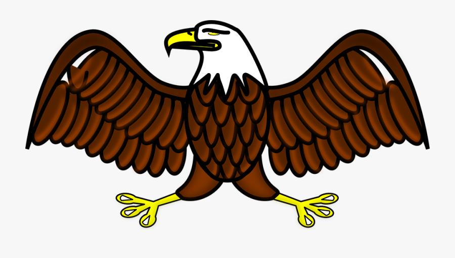 Eagle Bird Symbol Free Vector Graphic On Eagle- - Eagle Clipart, Transparent Clipart