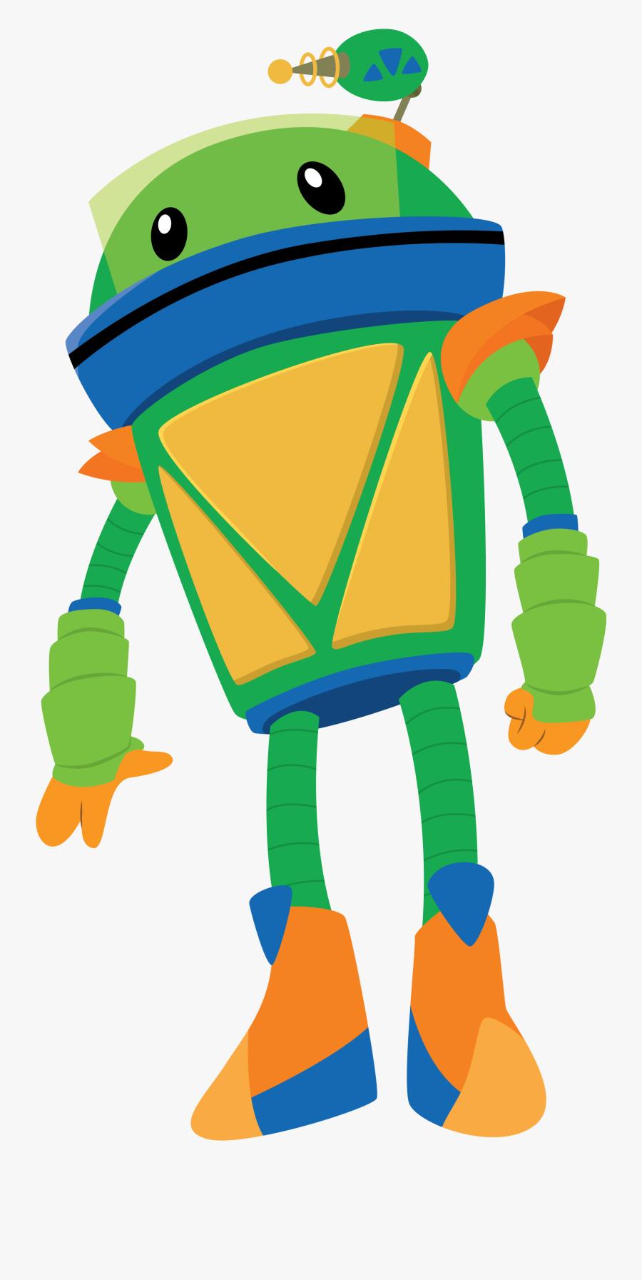 Transparent Bot Team Umizoomi , Transparent Cartoons - Robot From Team Umizoomi, Transparent Clipart