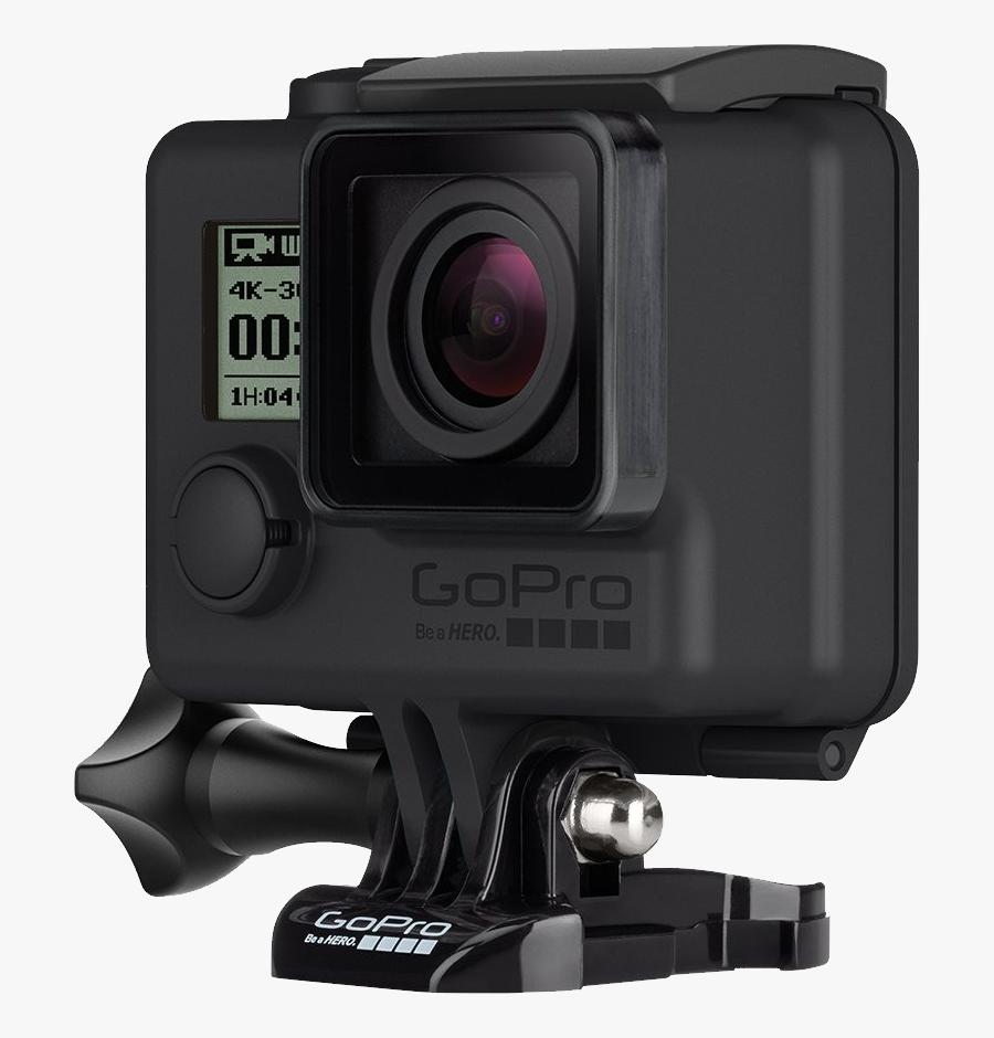Gopro Camera Clipart Bullet - Gopro Hero 4 Black Png, Transparent Clipart