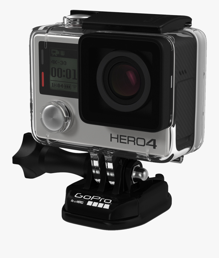 Gopro Hero 4 .png, Transparent Clipart