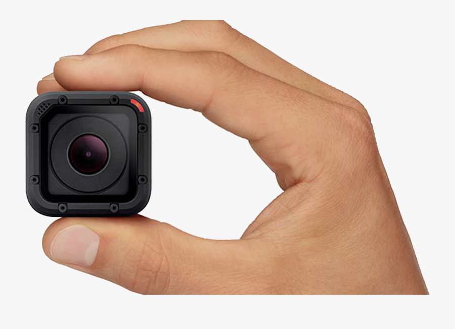 Download For Free Gopro Cameras Png Clipart - Smallest 4k Action Camera, Transparent Clipart
