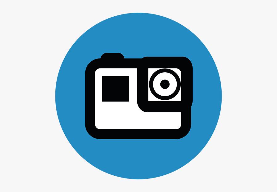Gopro Hero 5 Logo, Transparent Clipart