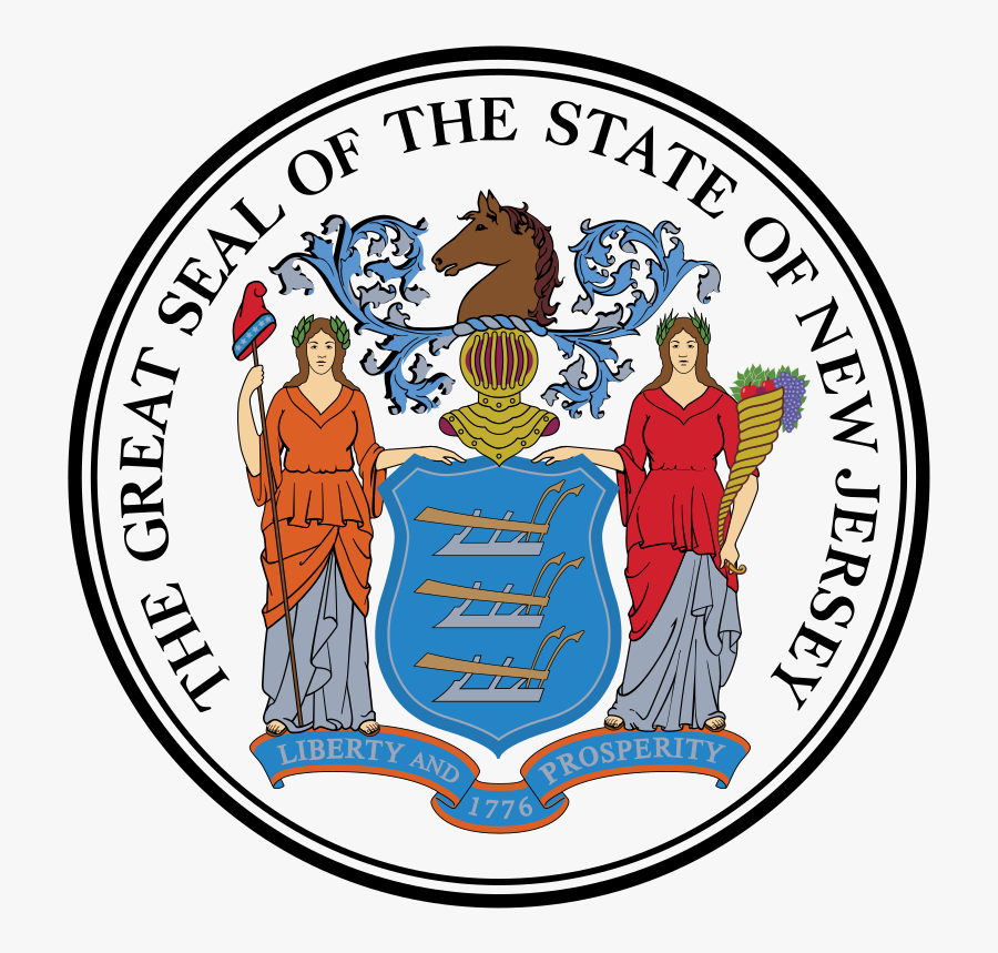 State Of New Jersey Logo, Transparent Clipart