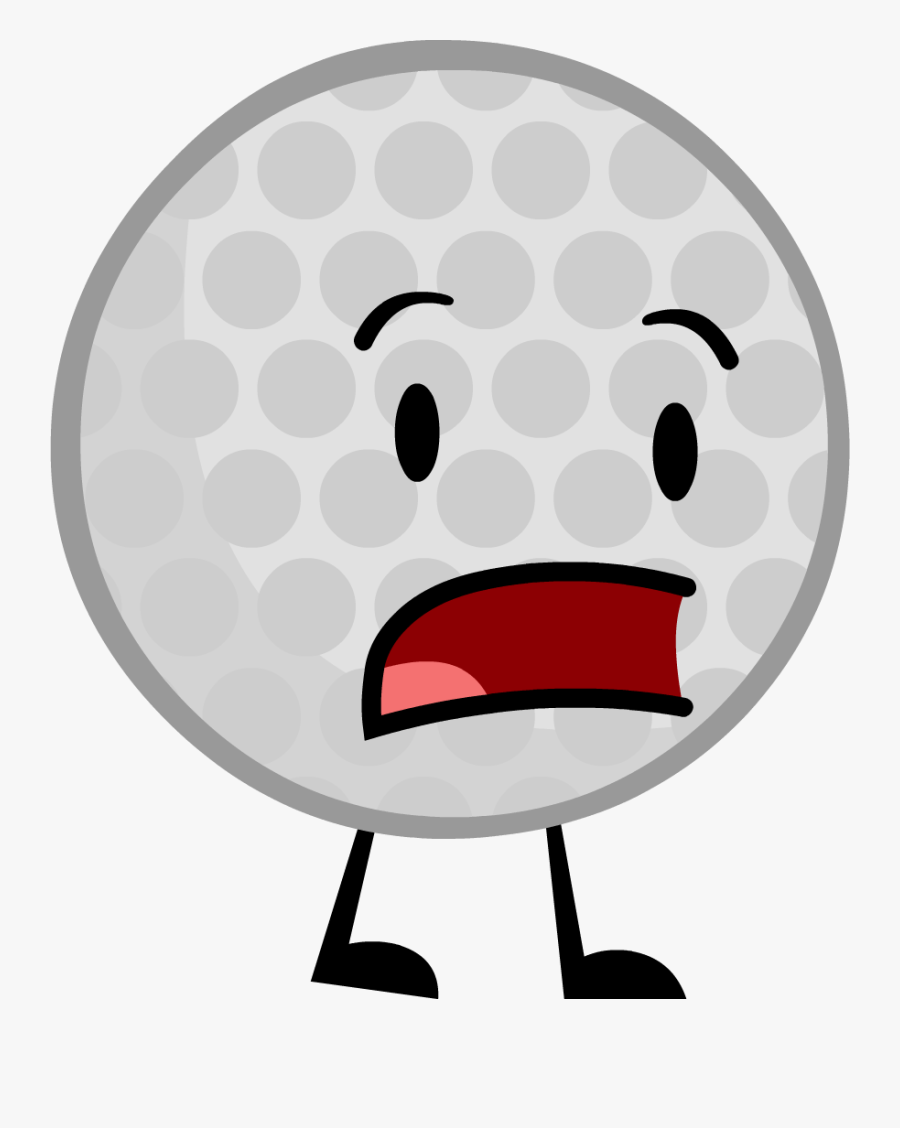 Battle For Dream Island Wiki - Golf Ball Bfdi Png, Transparent Clipart