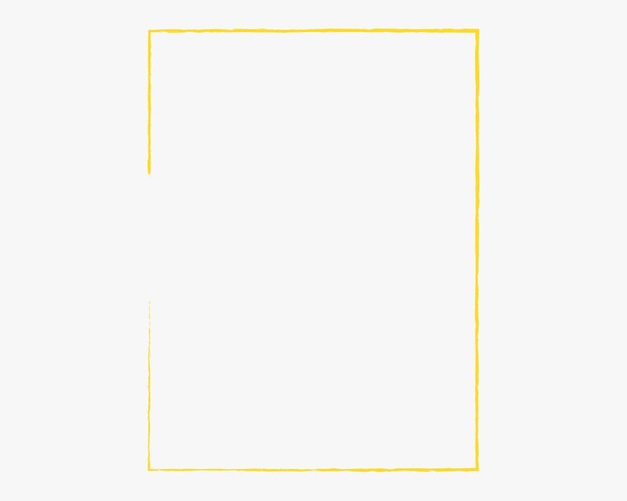 Transparent Rectangle Outline Png - Square Line In Png, Transparent Clipart