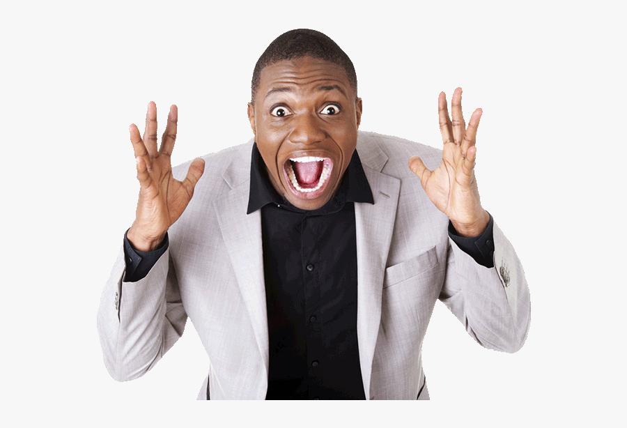 Transparent Happy Man Png - Happy Black Man Png, Transparent Clipart