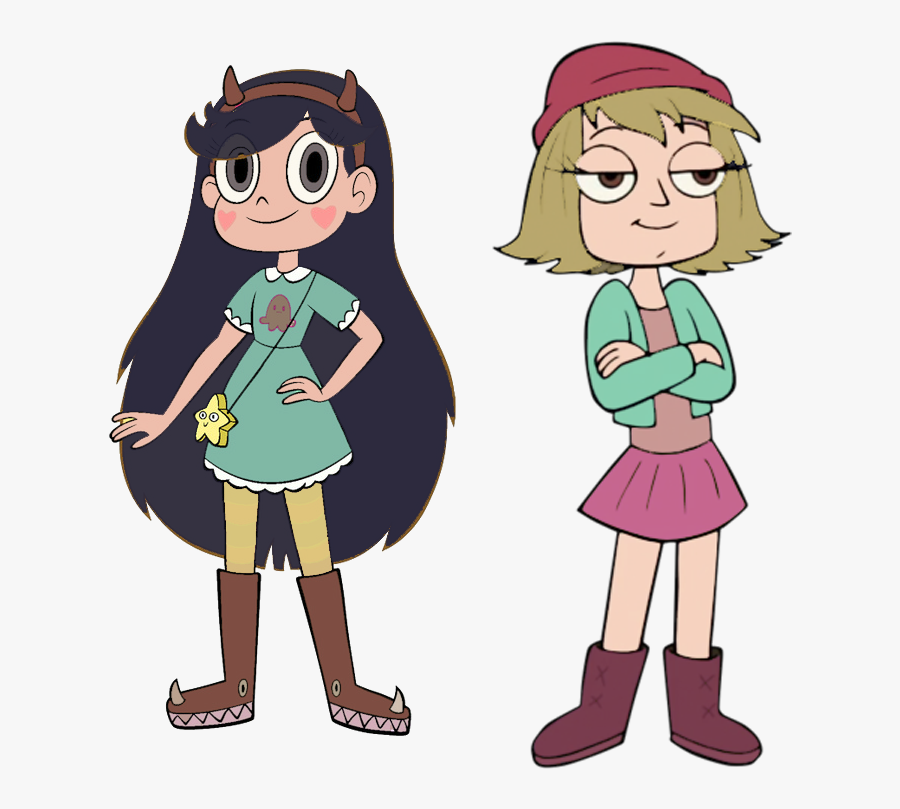 Transparent Star Vs The Forces Of Evil Png - Star Butterfly Brown Hair, Transparent Clipart