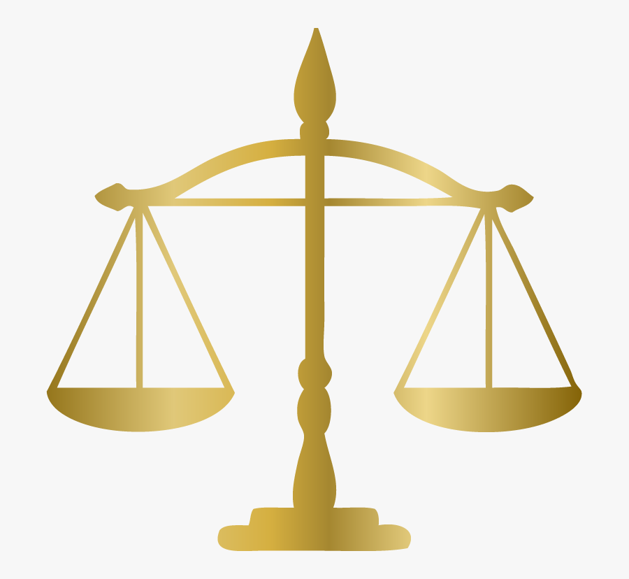 Rosh Hashana And Yom Kippur - Justice Weighing Scale Png, Transparent Clipart